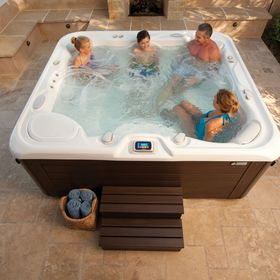 17 Relax With A Spa Ideas Hot Tub Spa Hot Tub Outdoor