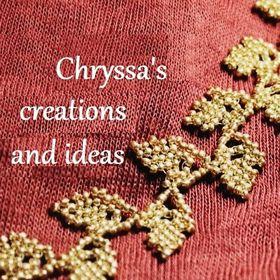 Chryssa's jewellery DIY (κατασκευές με χάντρες)