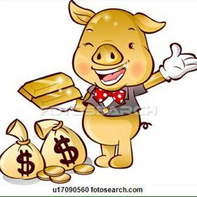 Precious Golden Piggy