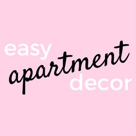 Easy Apartment Decor