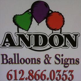 Andon Balloons & Signs