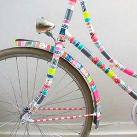 bolsa bici ikea sommer colocada en bici