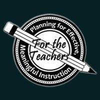 For the Teachers