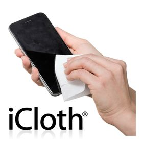 iCloth for Touchscreens