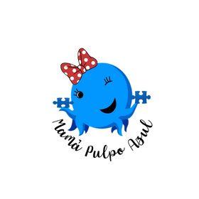 Pulpo Pull and Shake Azul