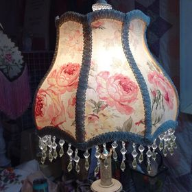 Roses of Yesteryear with Christina Bella Lampshades