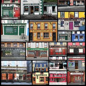 Pubs of Ireland Posters and Mouse Pads