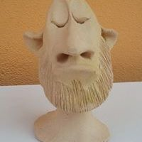 Statu-Palmă Barbă-Cot
