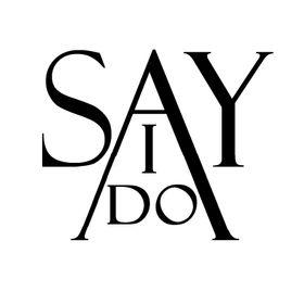 """Say ,,I do """""""