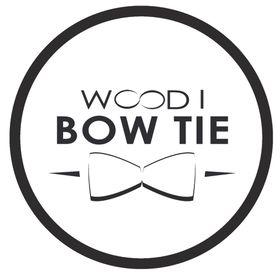 Wood I Bow Tie