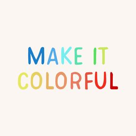 Make it Colorful