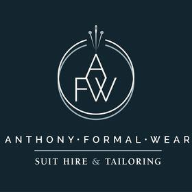 Anthony formal wear