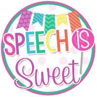 Speech Is Sweet | Speech Therapy Ideas
