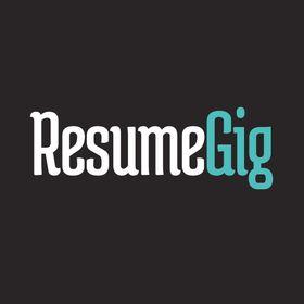 resume gig resumegig on pinterest