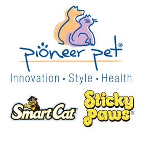 Pioneer Pet Raindrop Stainless Steel Pet Drinking Fountain 60oz SmartCat 546031