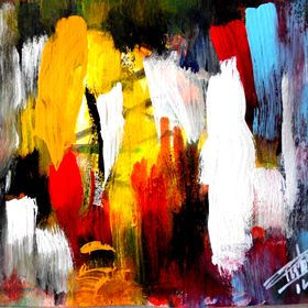ABSTRACT BY CARMELO PISTORIO painter