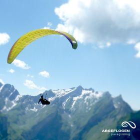 Abgeflogen Paragliding