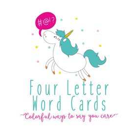 Four Letter Word Cards