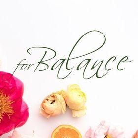 for Balance