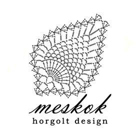 Meskok - horgolt design A fonal ihlette.