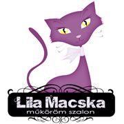 Lila Macska szalon