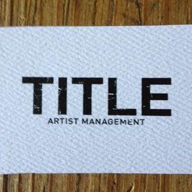 title artist management