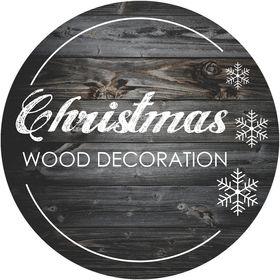 Christmas Wood Decoration