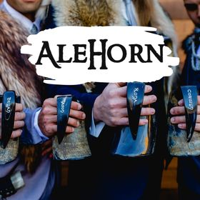 AleHorn Viking Drinking Horns - Customized