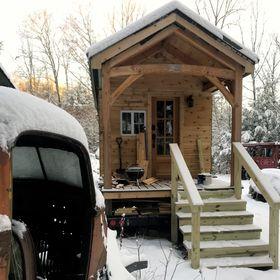 Tiny Timber Frame House