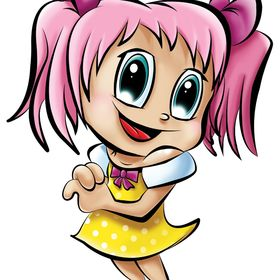 cartoon girl pictures - 694×886