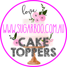Sugar Boo Cake Toppers