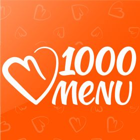 1000 menu's Pinterest Account Avatar