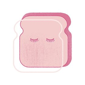 Pink Toast Ink