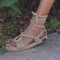 Rope Sandals by Cassandra Kelsey