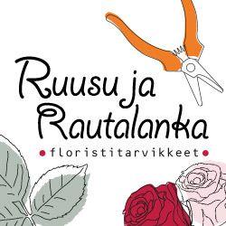 Tarvikepuoti Ruusu & Rautalanka