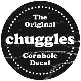 Chuggles Cornhole Decals