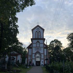 """Касцёл """"Узвышэння Святога Крыжа"""" Кальварыя"""
