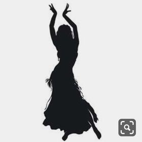 Damen-ATS Bauchtanz 25/Yard Baumwolle Maxi Rock/ /ATS Dance T/änzerin Welt