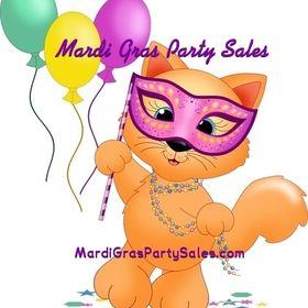 Mardi Gras Party Sales