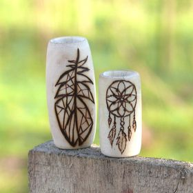 HeadstrongHippie - wooden dreadlock dread beads handmade with love
