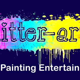Glitter-Arty Face Painting
