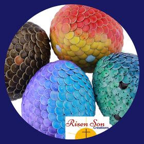 Risen Son Creations | Color Changing Dragon Eggs | Gender Reveal