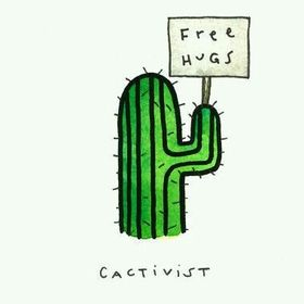Cactus hugger