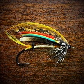 Blind eye fly hooks Forged size 1