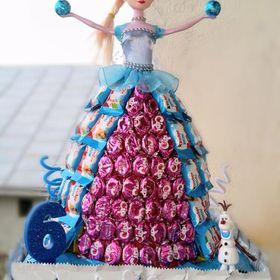 Tort din dulciuri ambalate Barlad 0730 652 350