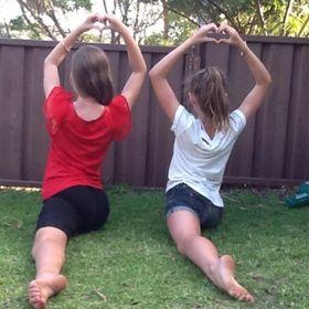 Acro Dance girls