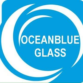 Ocean Blue Glass