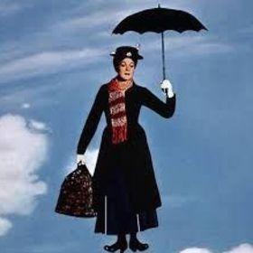 Personnalisé de Mary Poppins CARTE D/'ANNIVERSAIRE FILLE petite-fille maman nièce Gran