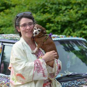 EelKat Wendy C Allen, Author, Artist, Art Car Designer