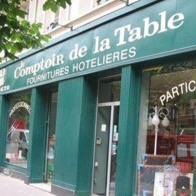Comptoir de la table